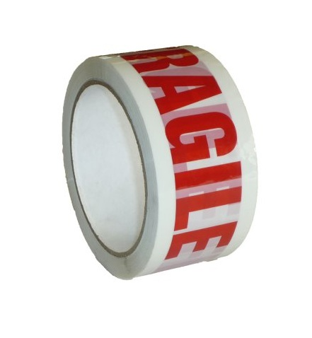 "Warning Tape Printed ""FRAGILE"""